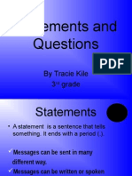 Statements Questions