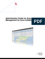 Administrator Guide for Avaya Scopia Management for Aura Collaboration Suite Version 83