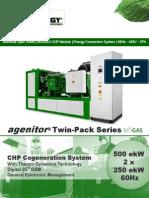 500kW BG Specs - Patruus IL6 TWIN PACK Biogas - 2 x 250 BG