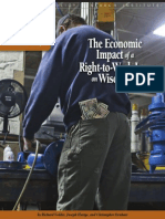 The Economic Impact of a Right-to-Work Law onWisconsin