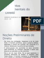 Elementos Fundamentais Do Direito