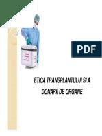 Curs 5 Transplantul de Organe