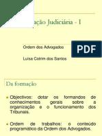 Organização Judiciaria I - Luisa Santos - 42 Slides