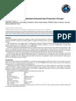 Ess-optimized Horizontal Gas Productin