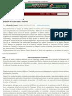 Evolución de La Salud Pública Venezuela - Por_ Alexander Suarez