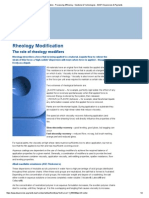 Rheology Modification - Processing Efficiency - Solutions & Technologies - BASF Dispersions & Pigments