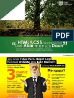 Ilmuwebsite.com HTML CSS Dari Akar Ke Daun