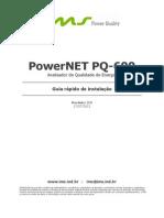 PowerNET PQ600 GuiaRápido P1