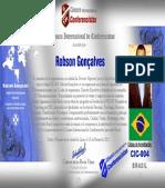 Acreditación Cámara - Robson Gonçalves