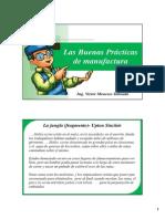 Tema 1 - Las Buenas Practicas Manufactura