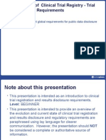 Clinical Trial Registry PPT