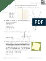 Lista de Exercícios função Quadratica Com Respostas
