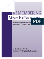 Remembering Abram Hoffer ss