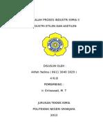 Alifah Yadina (Industri Asetilen Dan Etilen)