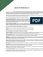Los Recursos Naturales de Guatemala y Su Explotación