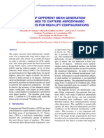 A Study of Different Mesh Generation Approaches to Capture Aerodynamic Coefficients for High-Lift Configurations