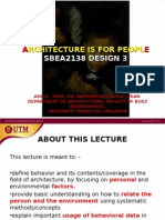 Architecture is for People