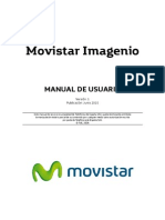 Manual de usuario Imagenio