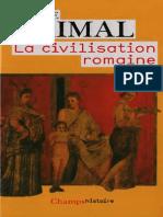 Pierre Grimal-La Civilisation Romaine-Flammarion (2009)-Ocr