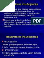 respiratorna insuficijencija