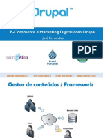 E-Commerce e Marketing Digital Com Drupal