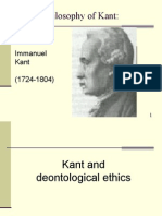 Kant's Deontology
