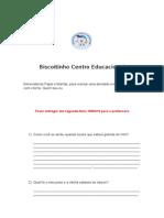 Biscoitinho Centro Educacional