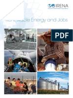 Renewable Energy and Jobs