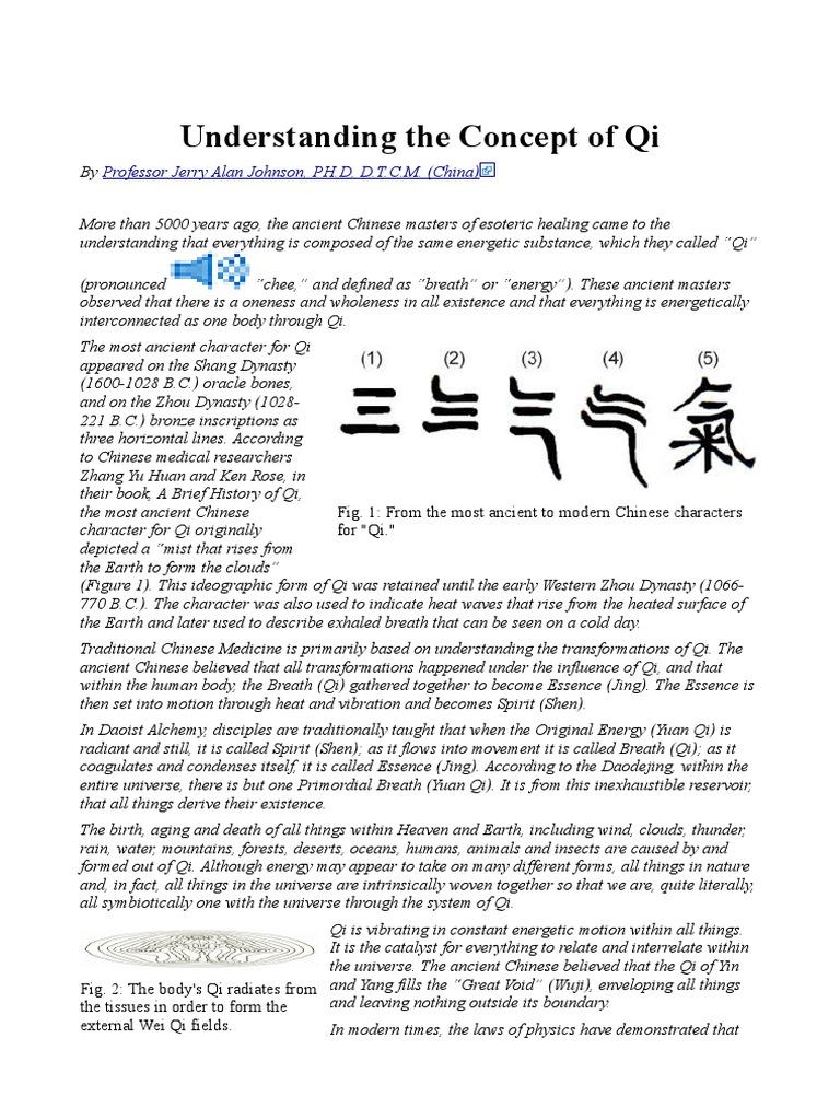 Understanding the Concept of Qi | Qi | Qigong