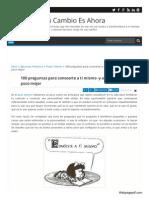 53 Http Tucambioesahora Blogspot Com Es 2013 07 Conocete a Ti Mismo HTML