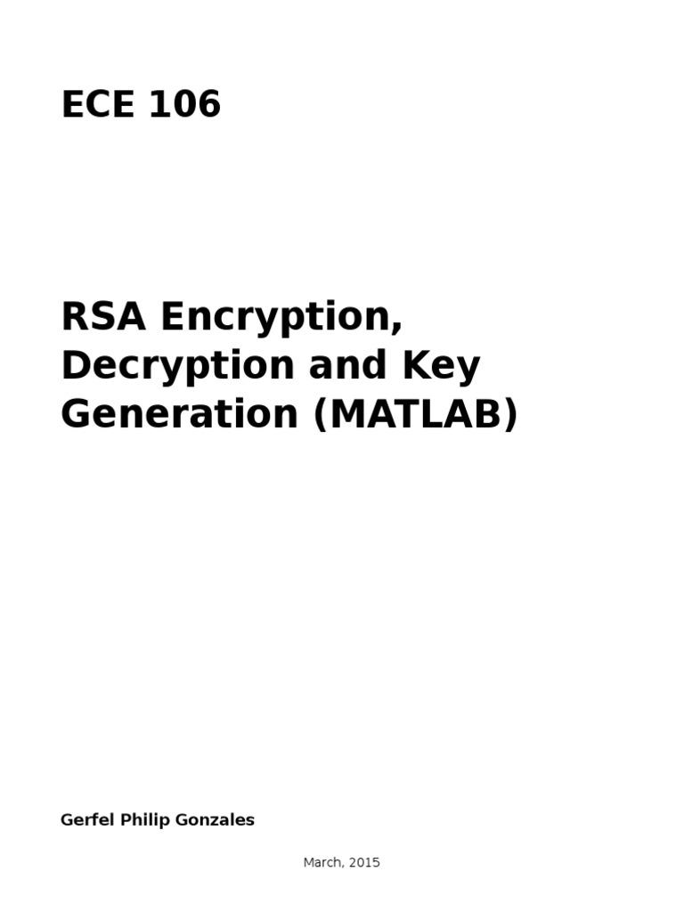 RSA Encryption | Public Key Cryptography | Cryptography
