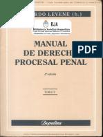 Manual Derecho Procesal Penal Levene