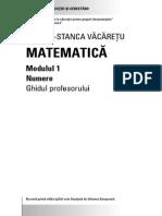 A Doua Sansa Secundar Matematica Profesor 1