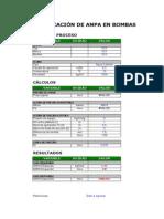 Verificación de ANPA - Bombas Centrífugas - Rev B
