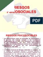 RIESGOS PSICOSOCIALES DIAPOSITIVAS