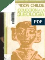 Libro Introduccion a La Arqueologia Gordon Childe