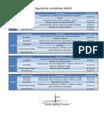 Agenda de Actividades DS DDOO 1501S B1 003