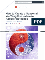 How to Create a Seasonal Yin y