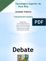 Debate - Exposición