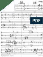 Berio, Luciano - Sonata Piano Solo (2001)
