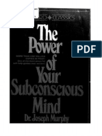 The Power of Your Subconscious Mind Joseph Murphy