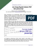 Format Angka Dalam PHP Dan Javascript (Achmatim.net)