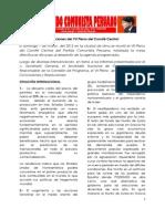 Conclusiones VII Pleno CC PCP