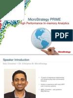 MSTRWorldEU2014 T5 S1 Microstrategy Prime