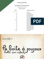 La Boite a Joujoux Ilustrações