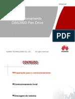 Comissionanto via Pen Drive DBS3900