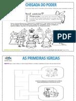 Atividades para primarios EBD 1º Trimestre 2015