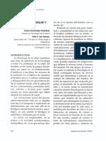 Psicología de La Salud y Bioética