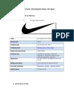 La cultura organizacional de Nike