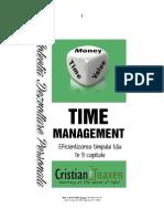 Time Management - Eficientizarea timpului tau in 9 capitole